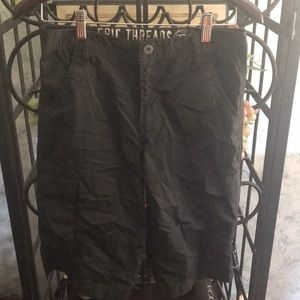 EPIC THREADS Boys Shorts. Size 14. Gray/Black.